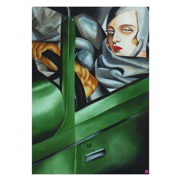 Autoportrait di De Lempicka