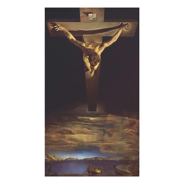 Christ de Saint Jean de la croix di Salvador Dali