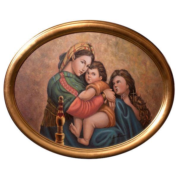 Madonna della Seggiola di Raffaello